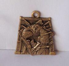 Metall Ornament + BPZ, Golden Kompass, Russland Landrin