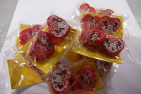 20 X DISNEY I LOVE MINNIE MOUSE CHILDRENS HAIR GRIPS / CLIPS PARTY BAG FILLER
