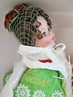 !HTF! 85th ANNV. CLASSIC TRIMMINGS WENDY Porcelain MADAME ALEXANDER DOLL *NRFB*