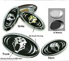 Tigris 3d Grille Trunk Horn Emblem 3pcs For Hyundai Genesis Coupe 2009 2015