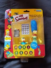 Marge & MAGGIE SIMPSONS WOS PLAYMATES Figura UK ESCLUSIVO 2001 RARA