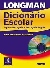 Longman Dicionario Escolar, Ingles-Portugues, Portugues-Ingles: Para estudantes