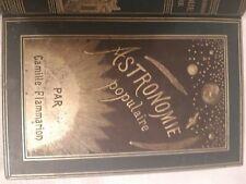 Livre ancien Astronomie Populaire par Camille Flammarion 1880