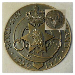 1950 -1975  Sirius Medaljen Bronze by Frode Bahnsen. Ltd. Edition 2066/3000