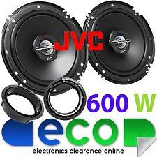 VW SCIROCCO 2008-2014 JVC 16cm 6.5 pollici 600 WATT 2 vie Porta Posteriore Altoparlanti Auto