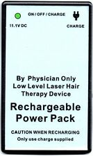 Laser hair cap 272 diodes hair loss regrowth growth replacement battery pack.