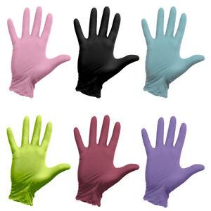 Nitril Handschuhe 100 Stück Latexhandschuhe Einmalhandschuhe Untersuchung Vinyl