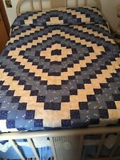 Trip Around World QUILT(Long Arm Quilted) LIGHT WEIGHT!