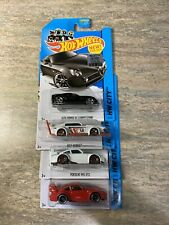 HOT WHEELS LOT OF 4 2014 Porsche 993 GT2 (2) Mad Manga Alfa Romeo Bc Competezion