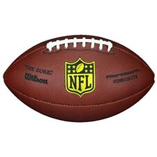"""NFL Pro Game Football """"The Duke"""" Game Ball Official Size Weight Gift For Boys"""