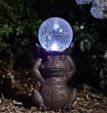 Smart Solar Gazing Frog Ornament