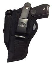 Gun Holster fits CZ USA 75 Compact | Pro-Tech Outdoors Black Nylon OWB