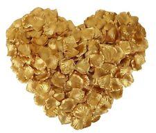 1000 Pcs Seda Artificial Rose Petals Decoraciones Para Bodas, Oro