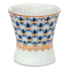 Cobalt Net Egg Cup by Imperial Porcelain Lomonosov LFZ Fine Russian China