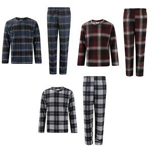 OFFICIAL LEE COOPER Pyjamas XXL Top & Bottoms NEW 2XL Mens 2 pack Tartan PJ Set