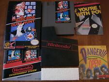 mint Super Mario Bros./Duck Hunt complete in box nintendo nes game