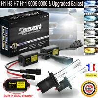 2PCS 110W H1 H7 H8/H9 KIT Phares Ballast de mise à niveau au Xénon HID 9005 9006