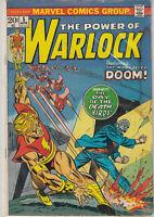 Warlock #5 1973 Marvel Bronze Age VG- 3.5