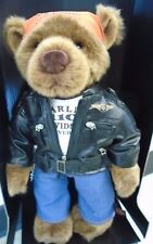 Harley Davidson 110th Anniversary Collectible Bear
