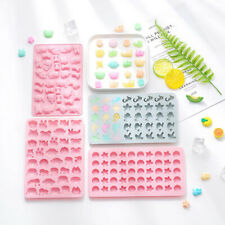 Silicone Gummy Chocolate Cookie Baking Ice Cube Tray Cake Candy Jelly Mould