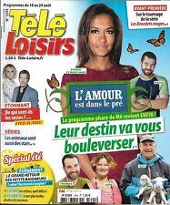 TELE LOISIRS n°1694 18/08/2018  L'amour est dans le pré/ Animaux stars de séries