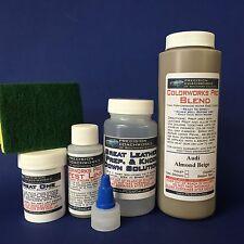 Colorworks Pro Leather/Vinyl Repair Kit for auto interiors-Audi Almond Beige
