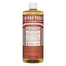 Dr Bronner Eucalyptus Castile Liquid Soap - 946ml