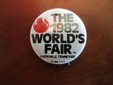 1982 World's Fair, Knoxville, Tennessee Souvenir Pinback Button