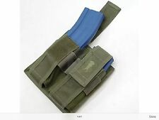 PLAT A TAC MOLLE Twin ammo mag pouch M4 PMAG Olive green