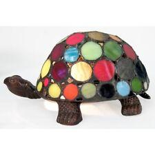 Lampe Schildkröte Design Jugendstil mehrfarbig