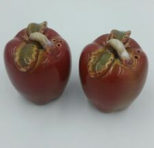 Apple  Salt and Pepper Shakers
