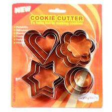 12 piezas Molde de Galleta Cortador De Galletas De Metal herramientas de pastelería de decoración pastel sugarpaste