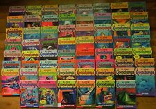 1-62 COMPLETE SET GOOSEBUMPS BOOKS ACCEPTABLE/GOOD MIX NEWER EDITIONS & ORIGINAL