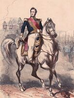 Portrait XIXe Louis-Philippe Ier Roi de France Monarchie de Juillet 1845