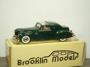 1946 Lincoln Continental by Loewy - Brooklin Models BRK X2 - 1:43 in Box *52630