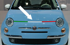 STICKER BANDE TRICOLORE ITALIE 92cm CAPOT FIAT 500 ABARTH AUTOCOLLANT BD519-1