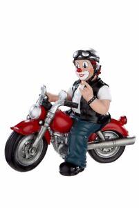 """GILDE CLOWN """"Heavy Biker"""" - Höhe: ca. 12 cm  - 35417"""