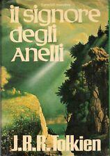 Il Signore degli Anelli Trilogia Tolkien Euroclub 1979 Mappa Alliata Fantasy 🧙