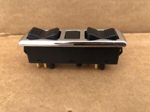 Passenger Side Chrome Power Window Switch Fits Mercedes W107 W108 W116 W123