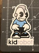 Kid Robot Humor Skateboard Laptop Guitar Decal Sticker
