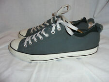 CONVERSE ALL STARS MEN GREY TEXTILE  LACE UP TRAINERS SIZE UK 12 EU 46.5  VGC