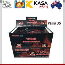 35 Pairs Hot Toe Warmers Pack Heat Feet Foot Sole Warmer Ski Snow 70 KASA