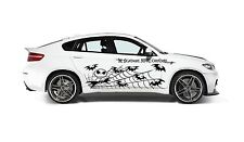 NIGHTMARE BEFORE CHRISTMAS JACK SKELLINGTON SPIDER WEB GRAPHIC VINYL DECAL CAR