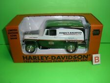 Liberty 1953 WILLYS JEEP PANEL TRUCK Clifton NJ Harley Davidson 1:25 NEW MINT