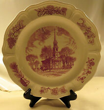 1954 Wedgwood Connecticut New England 150th Anniversary Collector Plate