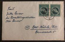 1945 Erbach Germany Cover To Thür Vienna Grand Prix Stamp