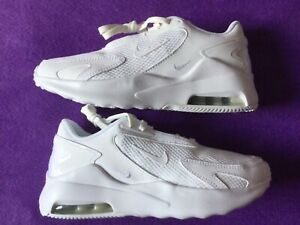 WOMEN'S BRAND NEW NIKE AIR MAX BOLT TRAINERS. WHITE SIZE 5