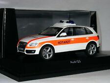 Schuco 2009 Audi Q5 Notarzt LTD ED 1/43