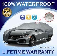 100% Waterproof/ All Weatherproof Full Car Cover For Honda Civic [2000-2020]