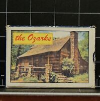 The Ozarks Souvenir Vintage Collectible Playing Cards with 54 cards Outdoors